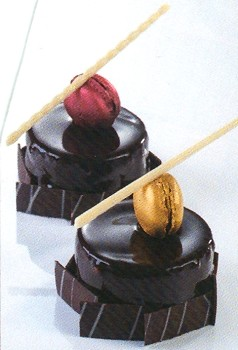CHOCOLATE DECORATION MOLD - ELEGANT CIGARETTES