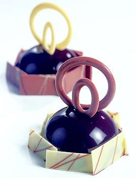 CHOCOLATE DECORATION MOLD - RING TRIO