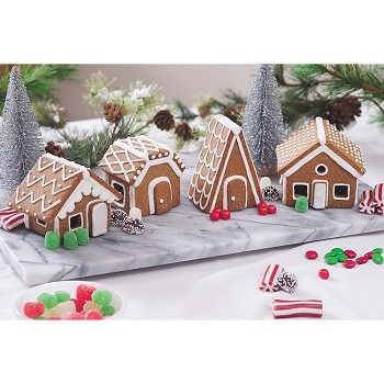 CHRISTMAS VILLAGE COOKIE CUTTER SET