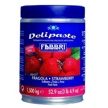 DELIPASTE GELATO FLAVORING - STRAWBERRY