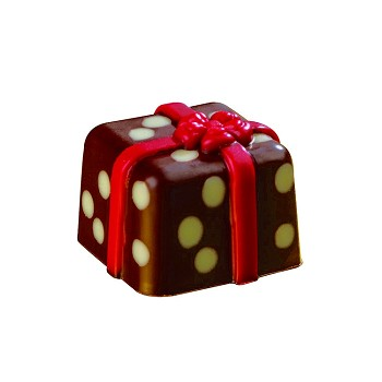 CHOCOLATE MOLD - WRAPPED PRESENT