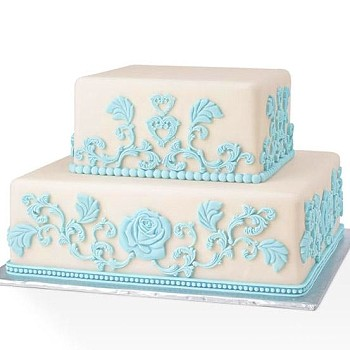 FONDANT & GUM PASTE THEME MOLDS - BAROQUE