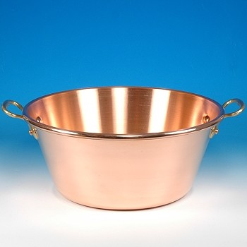 EXTRA HEAVY JAM PAN - SOLID COPPER