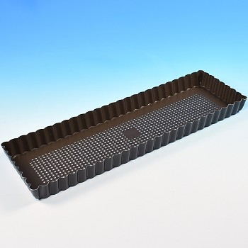 LONG RECTANGLE TART PAN - PERFORATED
