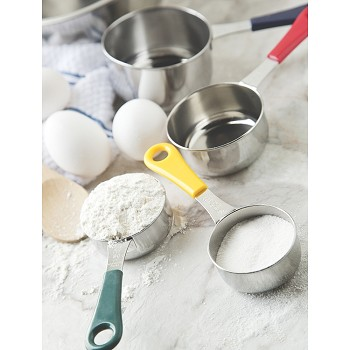 MEASURING SPOON & CUP SETS - COLOR HANDLES