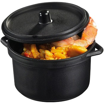 MINI CASSEROLE POT WITH LID - DISPOSABLE