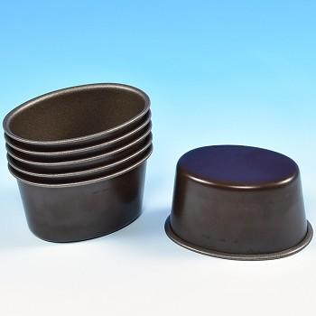 OVAL DARIOL TIMBALE MOLDS