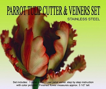 PARROT TULIP CUTTER & VEINER SET