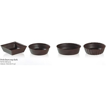 CHOCOLATE PETIT FOURS ASSORTED CUPS