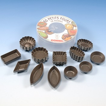 PETIT FOUR MOLD SET - NON STICK
