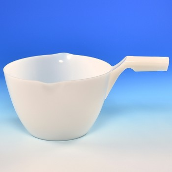 PLASTIC MEASURING BOWL WITH HANDLE