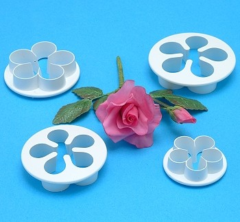 FIVE PETAL ROSE CUTTER SETS