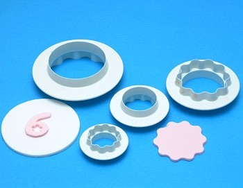 ROUND & WAVY EDGE CUTTER SET