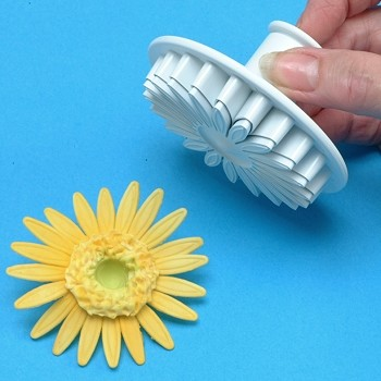 SUNFLOWER & DAISY PLUNGER CUTTERS - LARGE