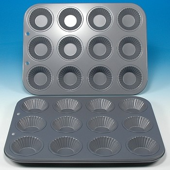 FLUTED TARTLET BAKING PAN
