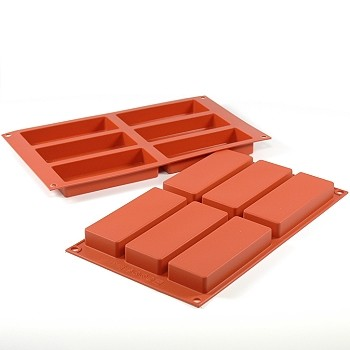 SILICONE MOLD - SLIM RECTANGLE