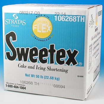 SWEETEX CAKE AND ICING SHORTENING