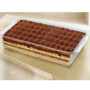 TIRAMISU CONTAINER - DISPOSABLE