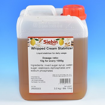 WHIPPED CREAM STABILIZER - LIQUID